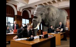elephant in room - 2
